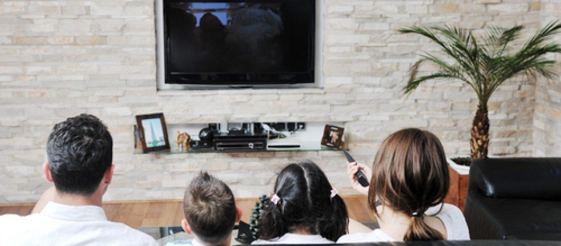 כורסאת טלוויזיה מבד